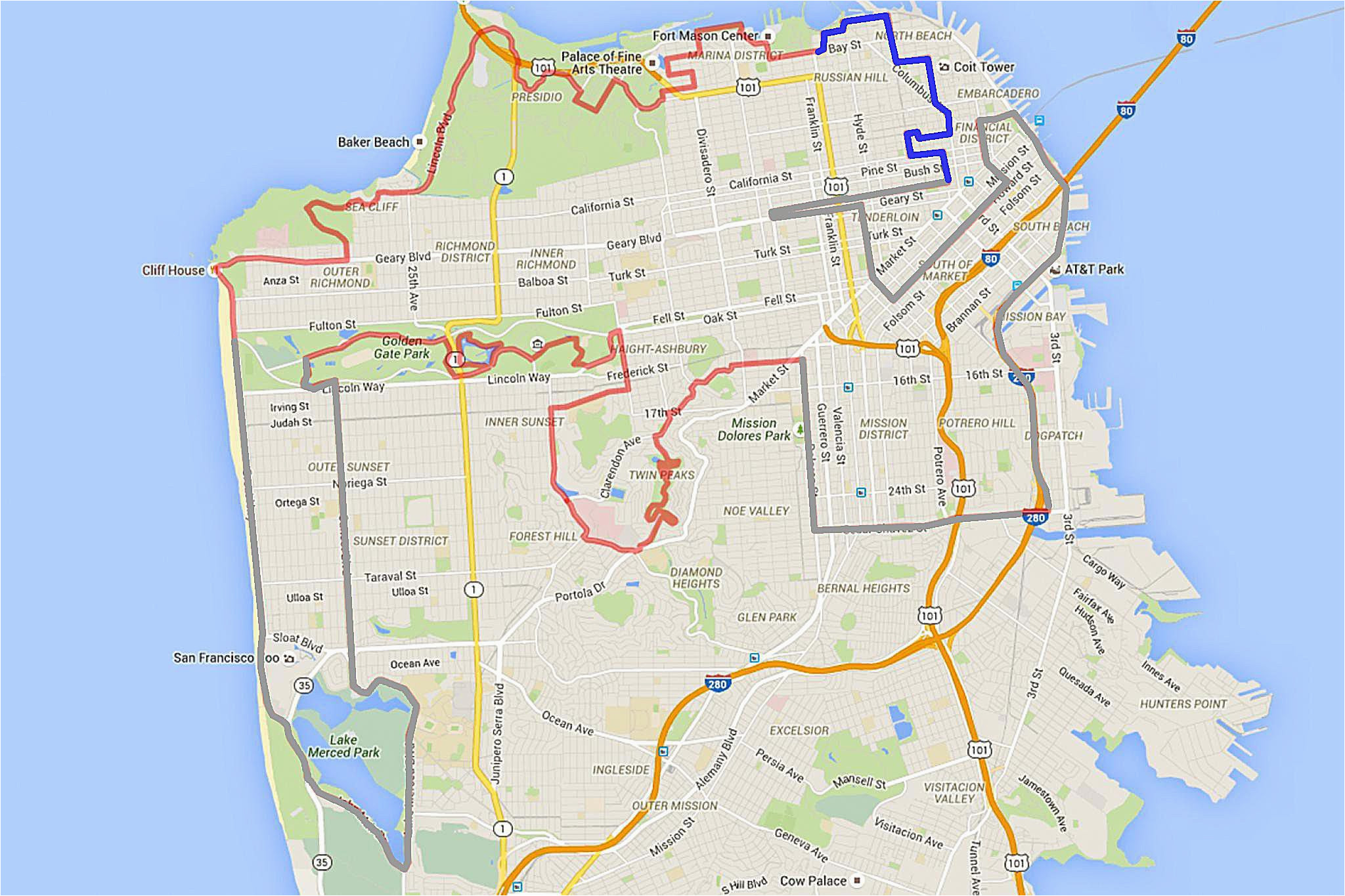 Charming California Google Maps 49 Mile Drive In San Francisco What You Need to Know