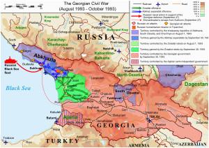 georgian civil war wikipedia