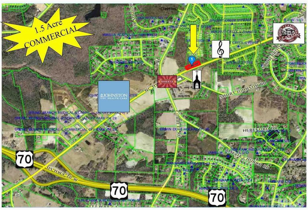 1588 w nc 42 hwy clayton nc 27520 land for sale and real estate
