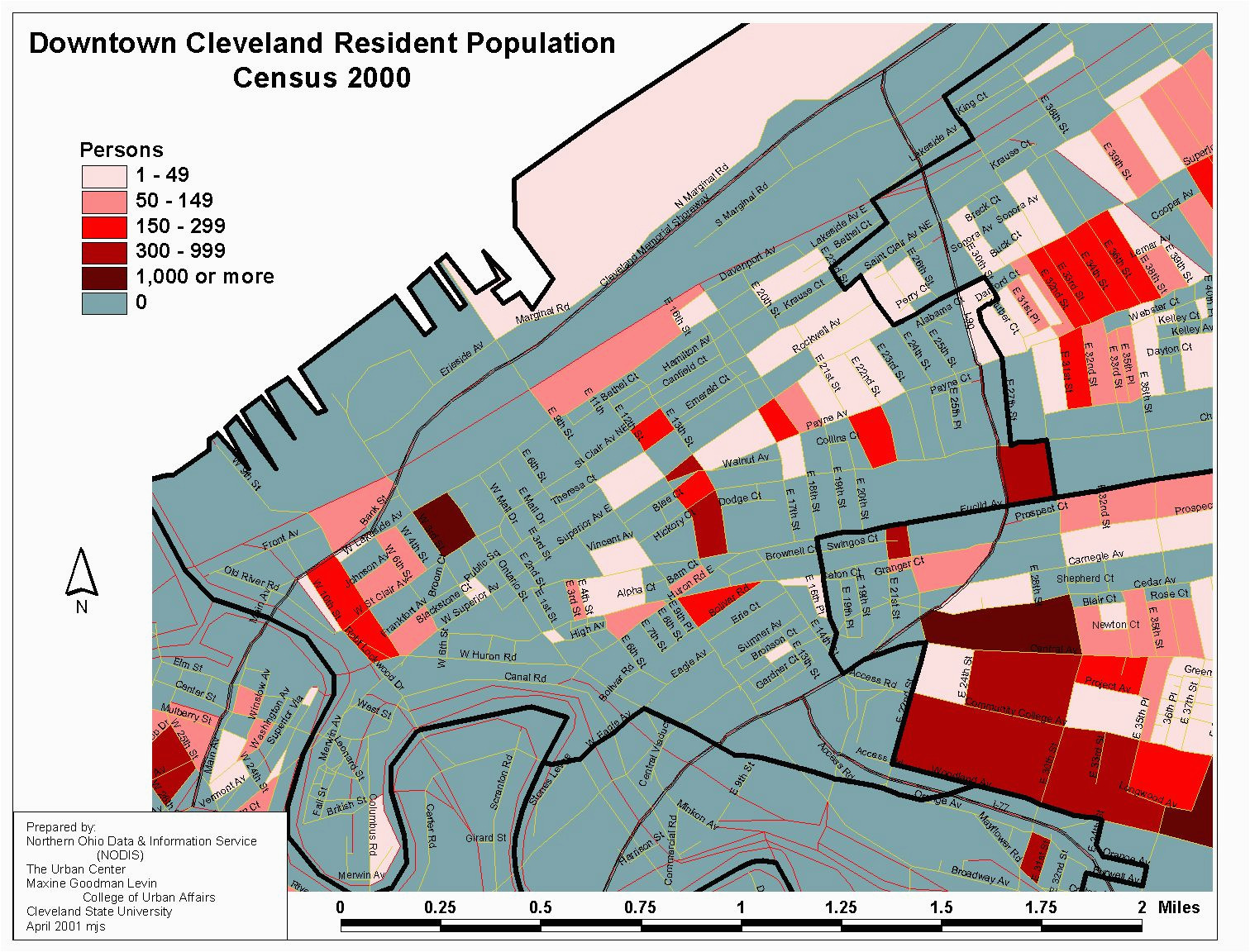Cleveland Ohio Suburbs Map Map Of Downtown Cleveland Elegant ...
