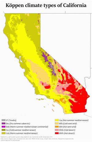 climate of california revolvy
