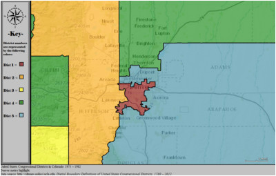 colorado s congressional districts wikipedia