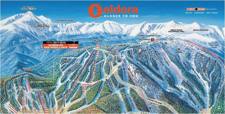 eldora mountain colorado ski resort near denver