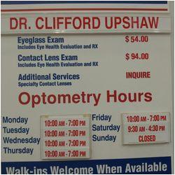 cliff upshaw od optometrists 3250 w grant line rd tracy ca