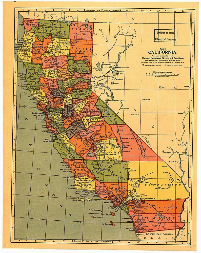 california state map with cities and counties netwallcraft com