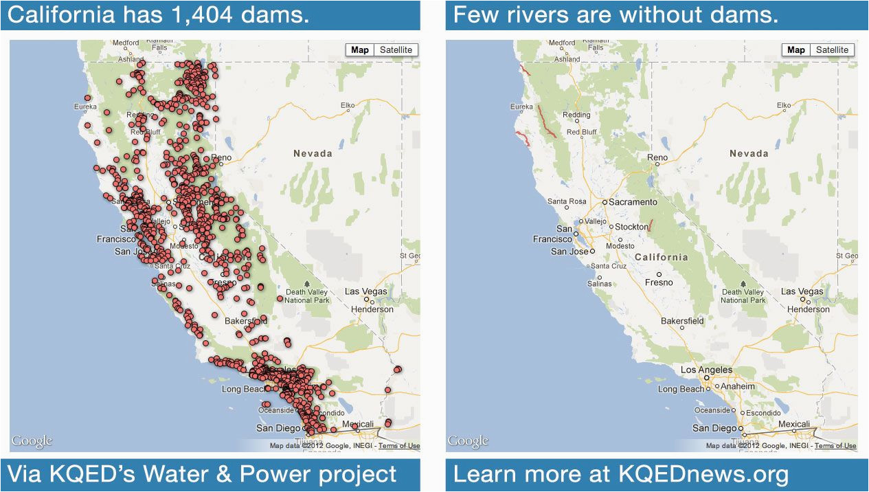 more than 1 400 dams and diversions provide graphic proof of the