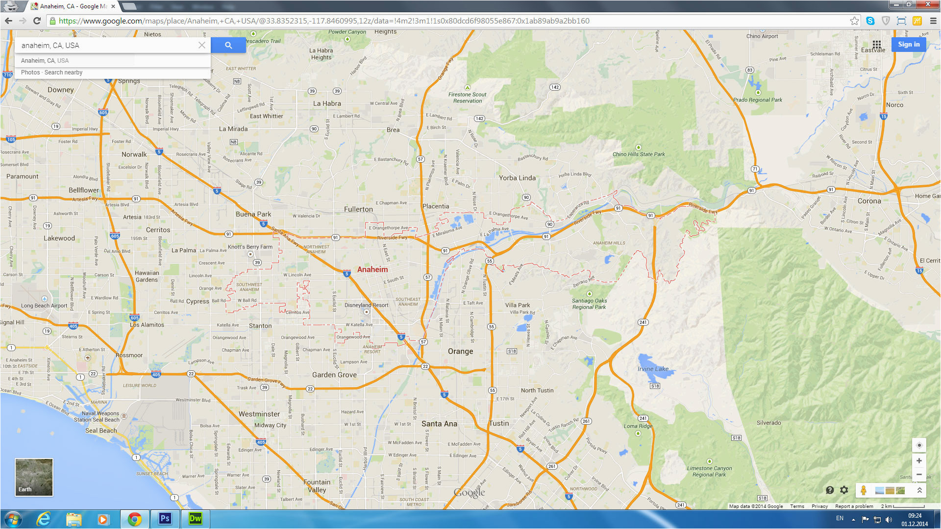 Disneyland California Google Maps Google Maps Disneyland California on