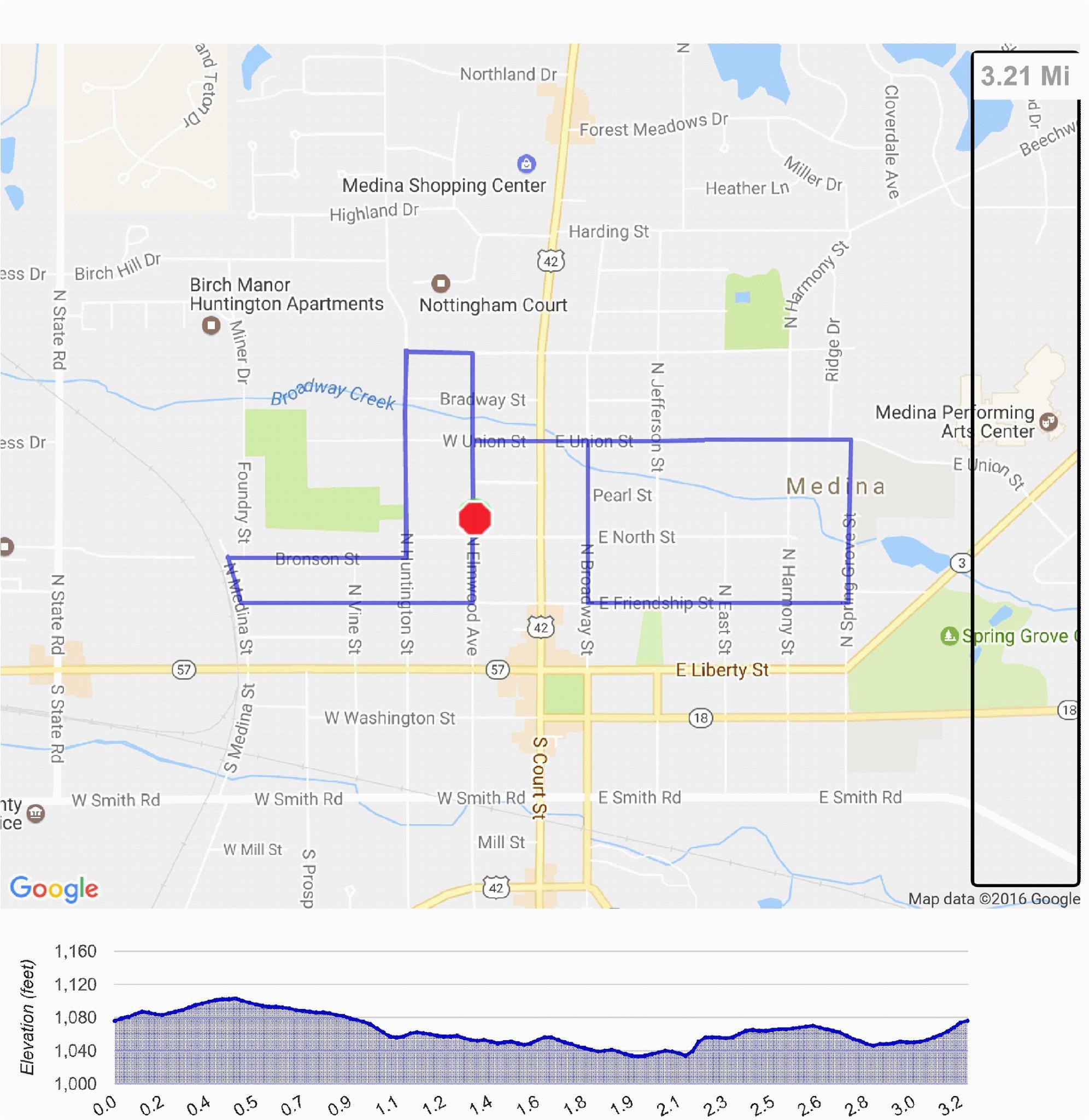2019 water tower district 5k historic hustle medina ohio