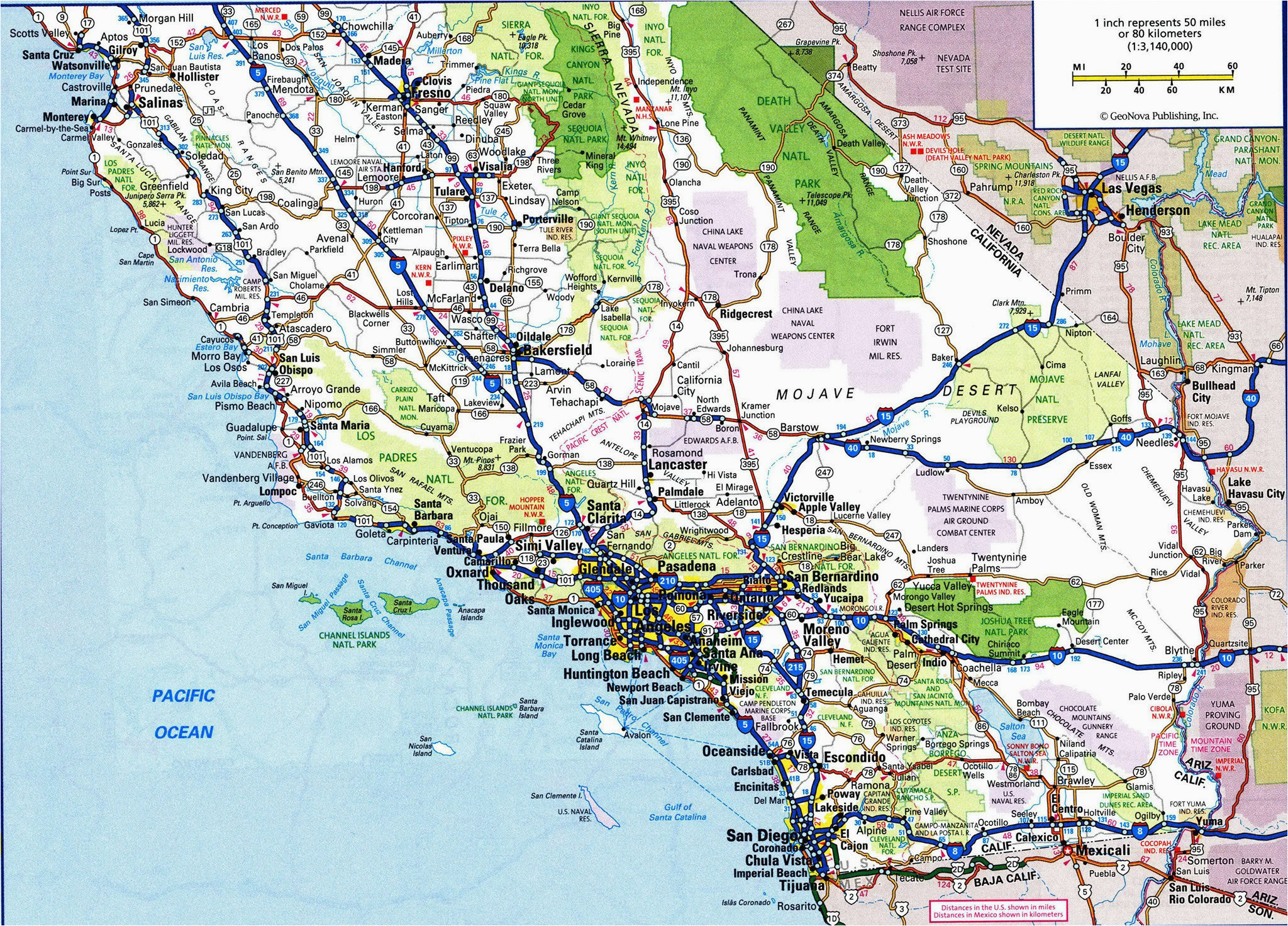 coastal map of southern california massivegroove com
