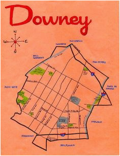 Downey California Map 170 Best where I Have Lived Images In 2019 ...