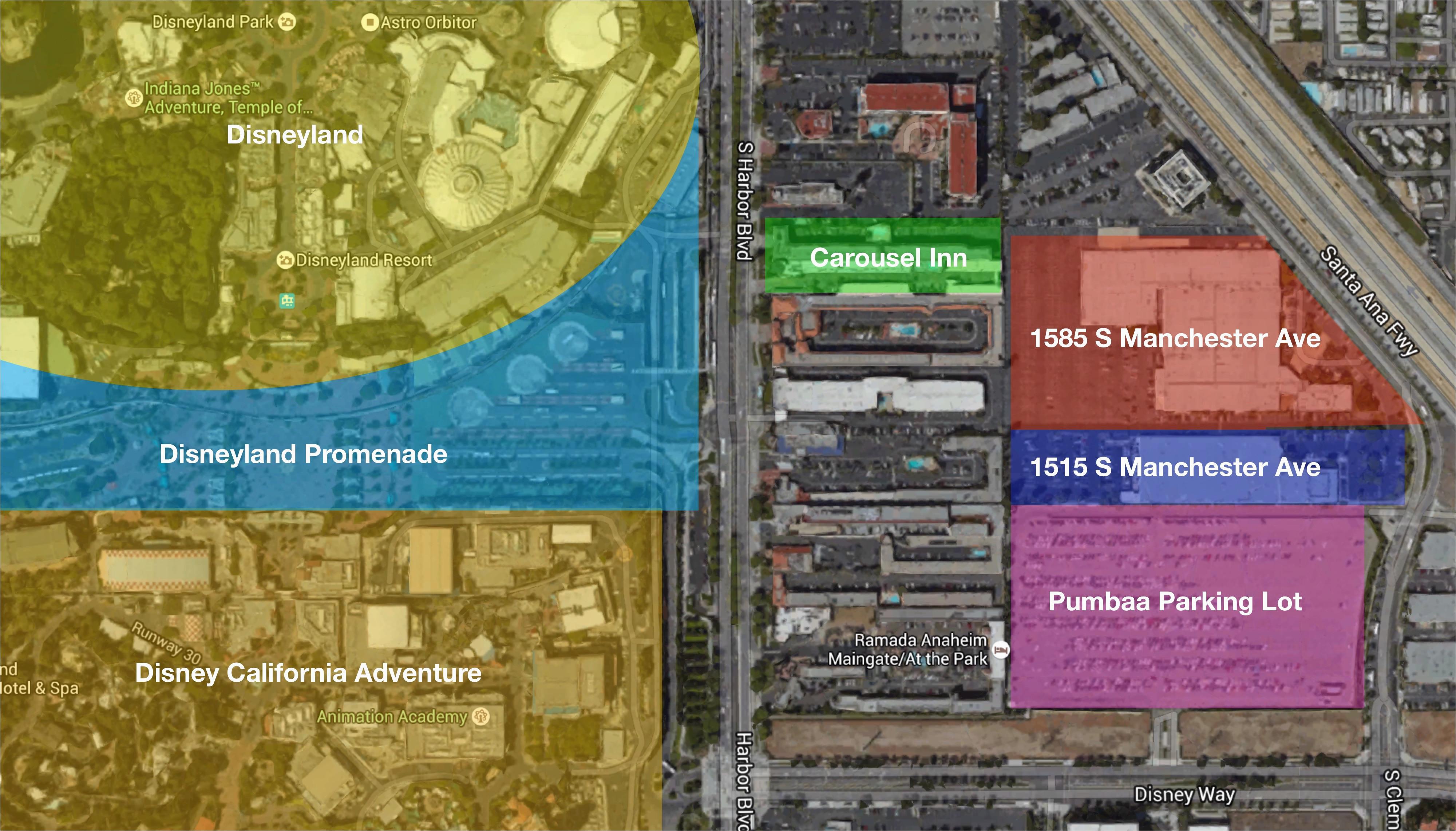 downtown disney california map printable download wallpaper high