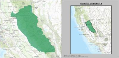 california s 4th congressional district wikipedia