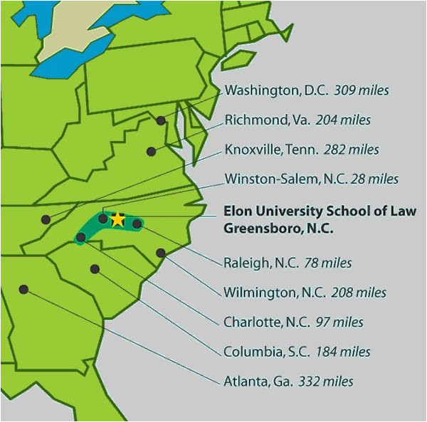 elon university elon law about elon law maps and directions