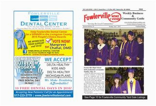 fowlerville news views online june 7 2015 by steve horton issuu