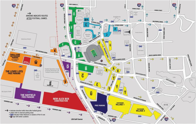 Georgia Southern Parking Map Georgia southern Parking Map Clemson Football Parking Map Elegant
