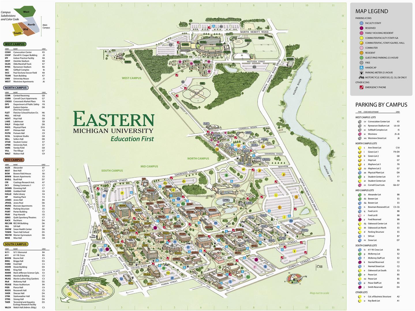 Georgia Southern University Map Georgia southern University Campus Map Georgia southern Campus Map