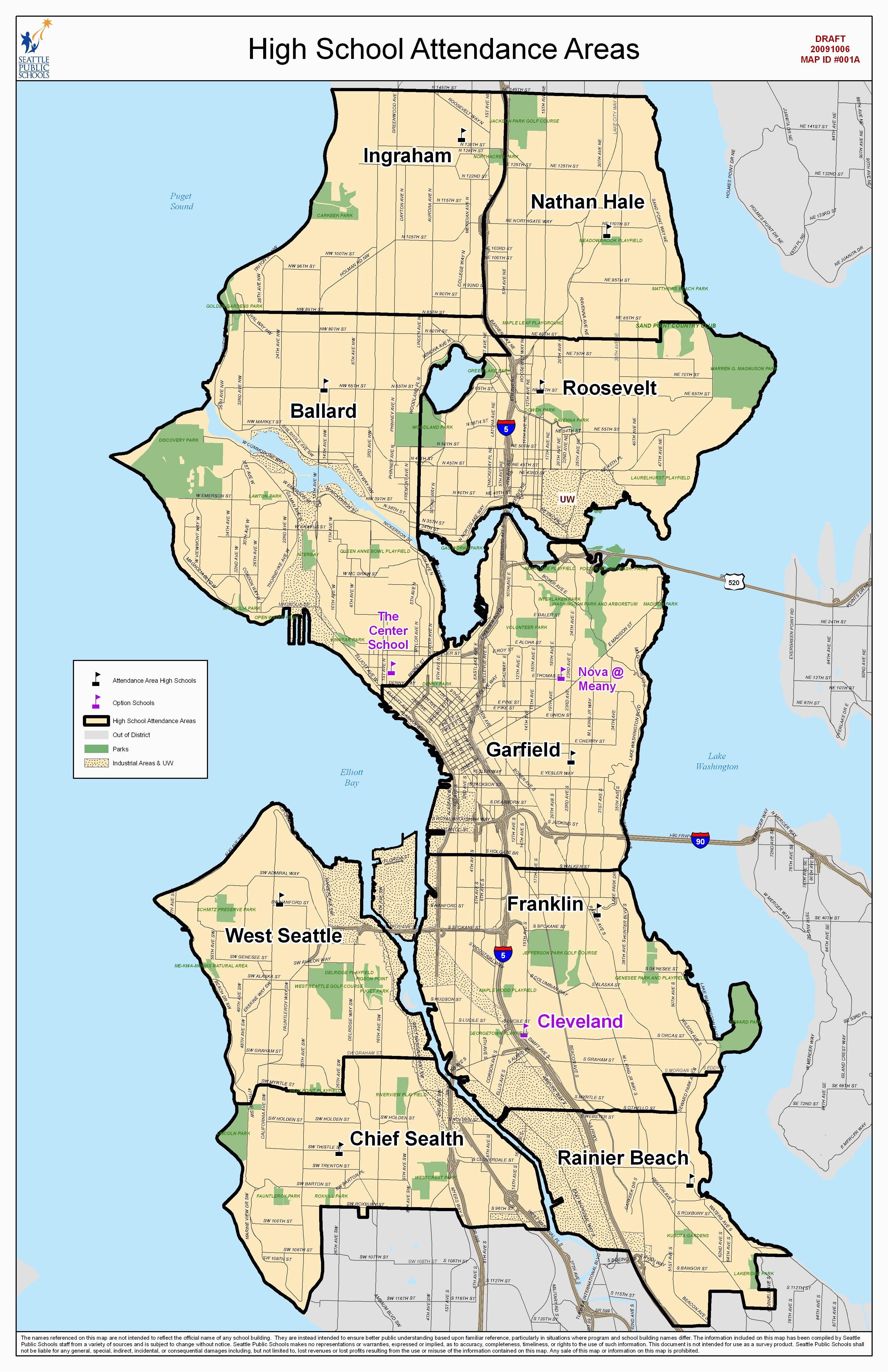 google maps santa barbara california outline attendance area maps