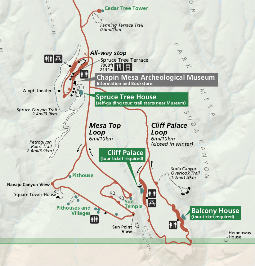 mesa verde maps npmaps com just free maps period