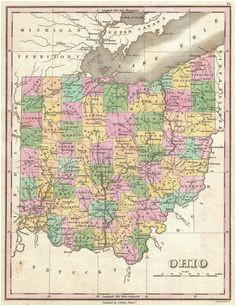 118 best ohio images columbus ohio ohio map family genealogy