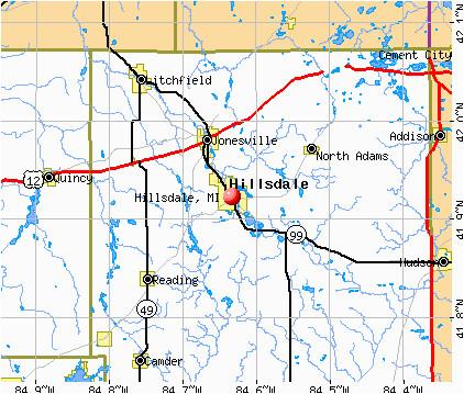 twp map best hillsdale michigan map diamant ltd com