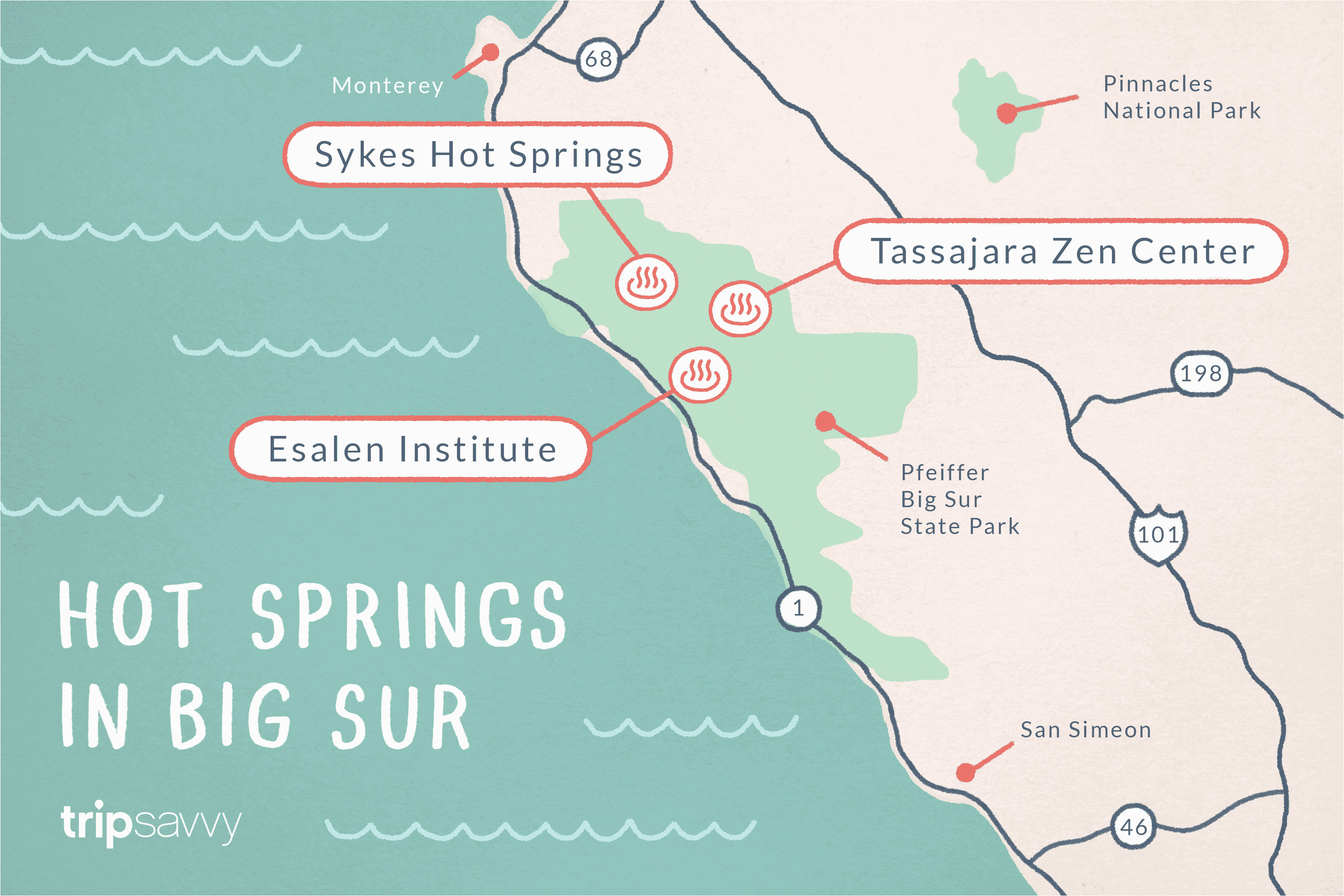 big sur hot springs top natural hot tubs on the coast