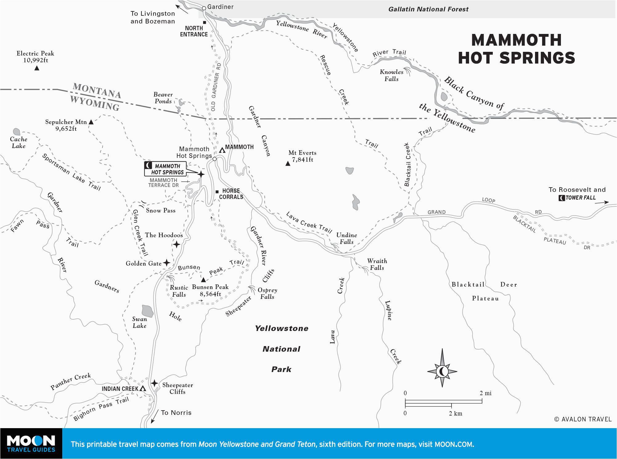 mammoth california map massivegroove com