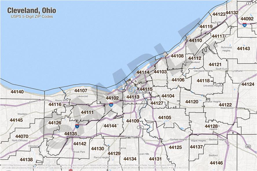 Cleveland Zip Code Map Mansfield Ohio Zip Code Map Cleveland Zip Code Map Lovely Ohio Zip