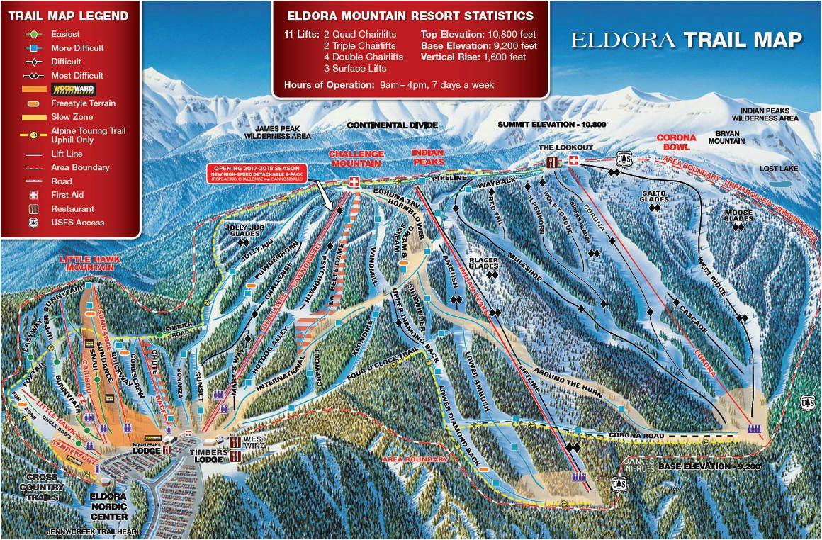eldora trail map eldora denver trail maps denver trail