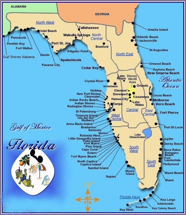 florida gulf coast map florida in 2019 florida florida beaches