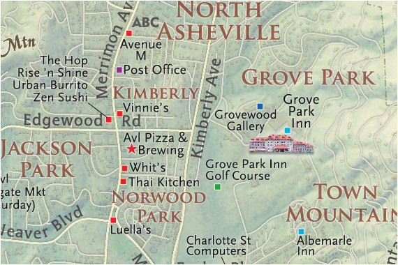 Map Of asheville north Carolina and Surrounding areas the asheville Map A Best Local Map asheville Nc Map Guide
