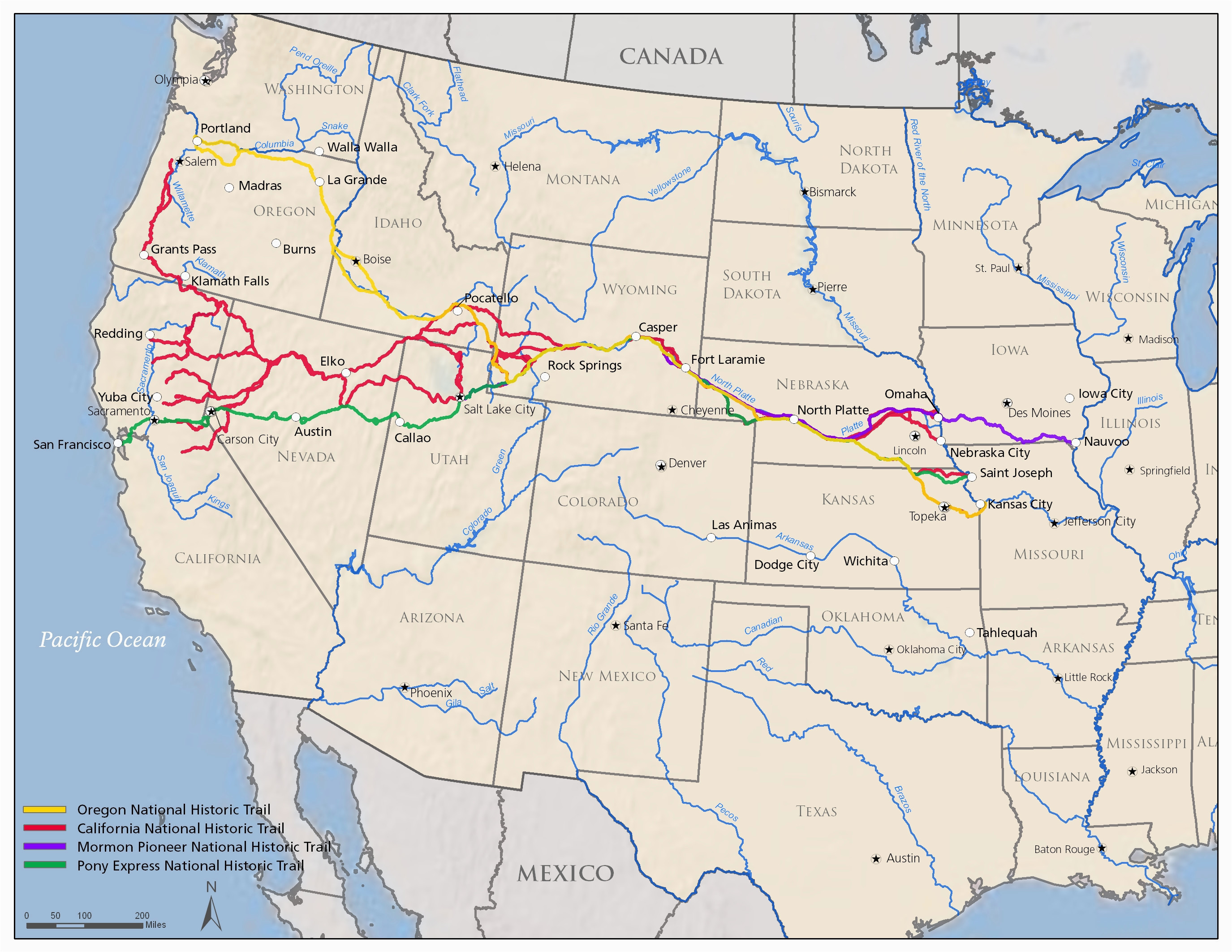 map of northern california and oregon massivegroove com