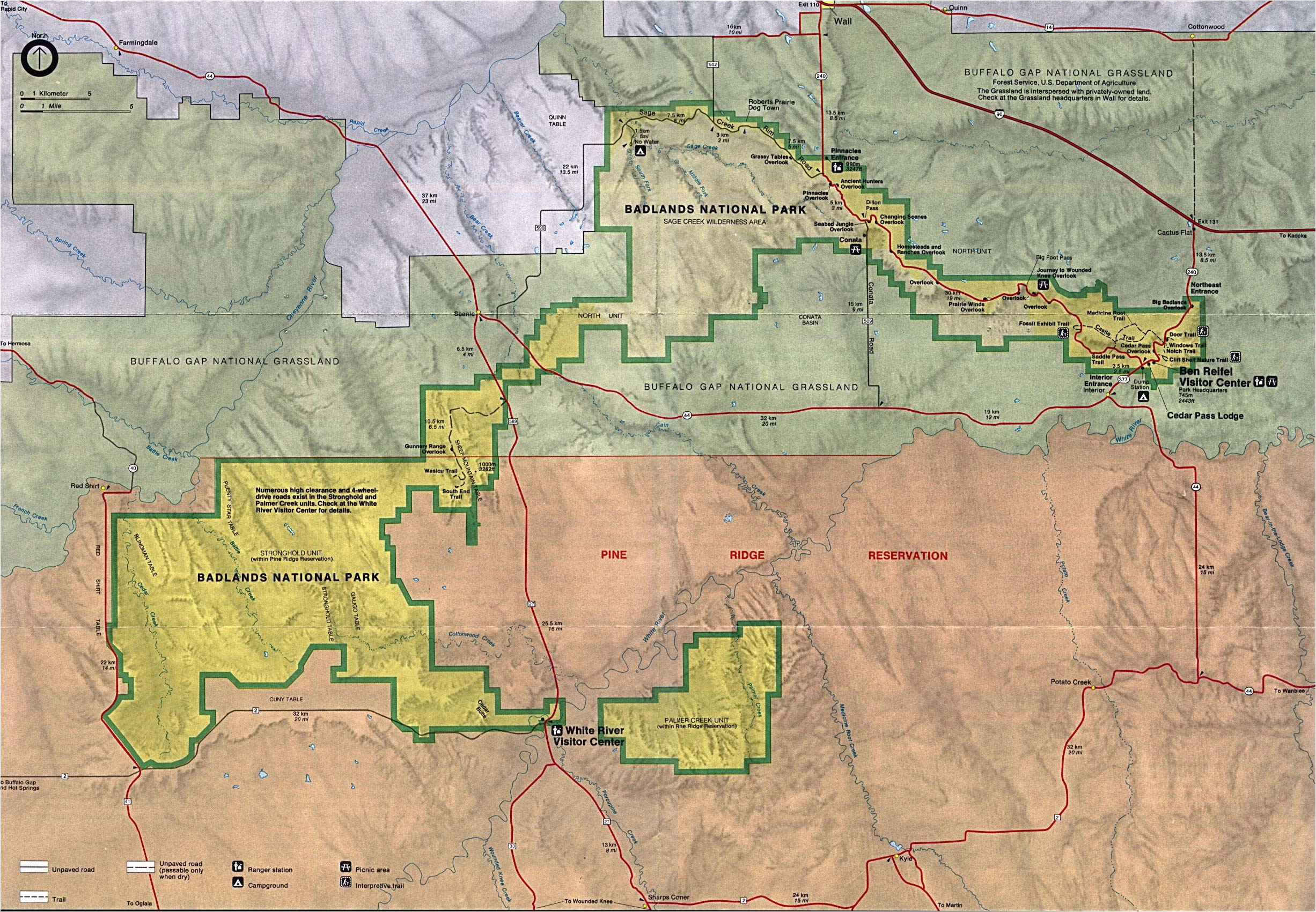 Map Of California Yosemite National Park   secretmuseum