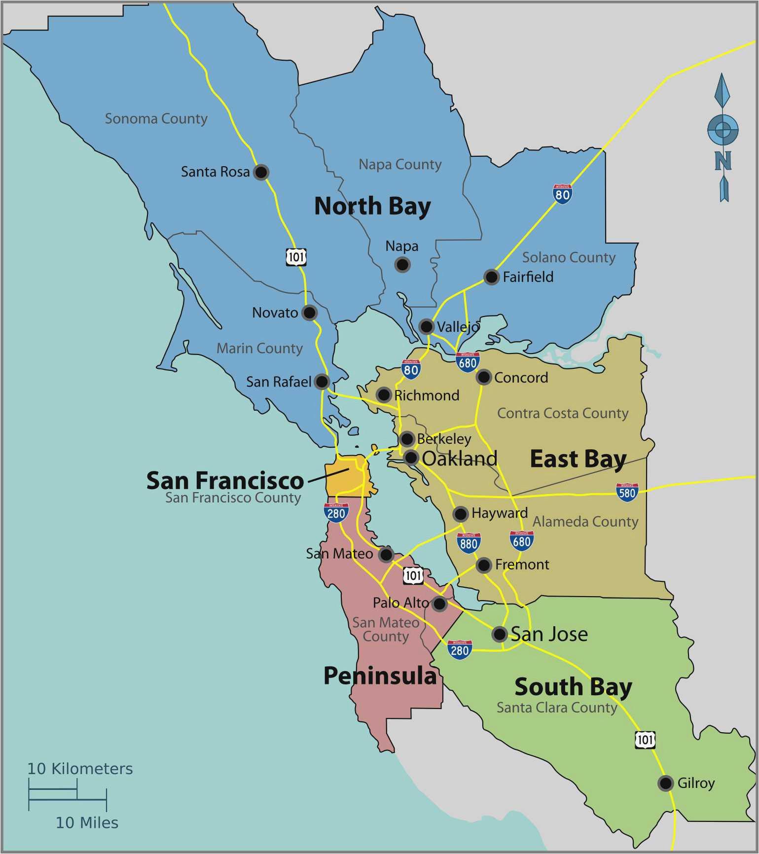 san mateo california map unique san francisco bay area our worldmaps