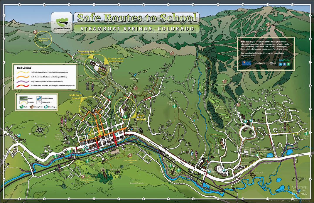Map Of Colorado Steamboat Springs Od Cute Map Of Steamboat Springs Steamboat Springs Trail Map on