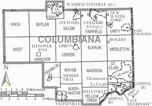 hanover township columbiana county ohio wikipedia