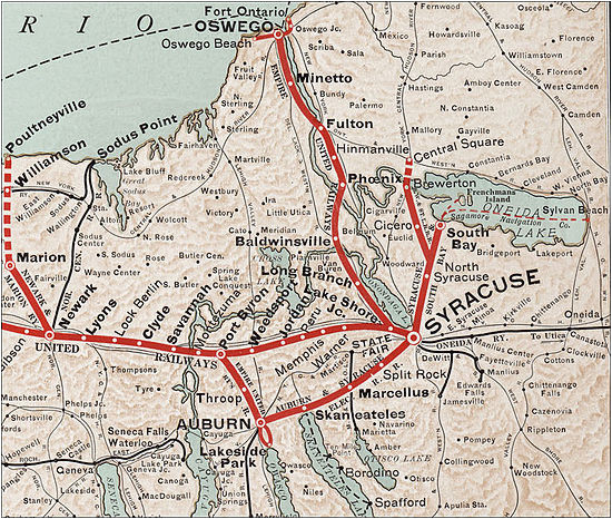 interurban and streetcar railways in syracuse new york wikiwand