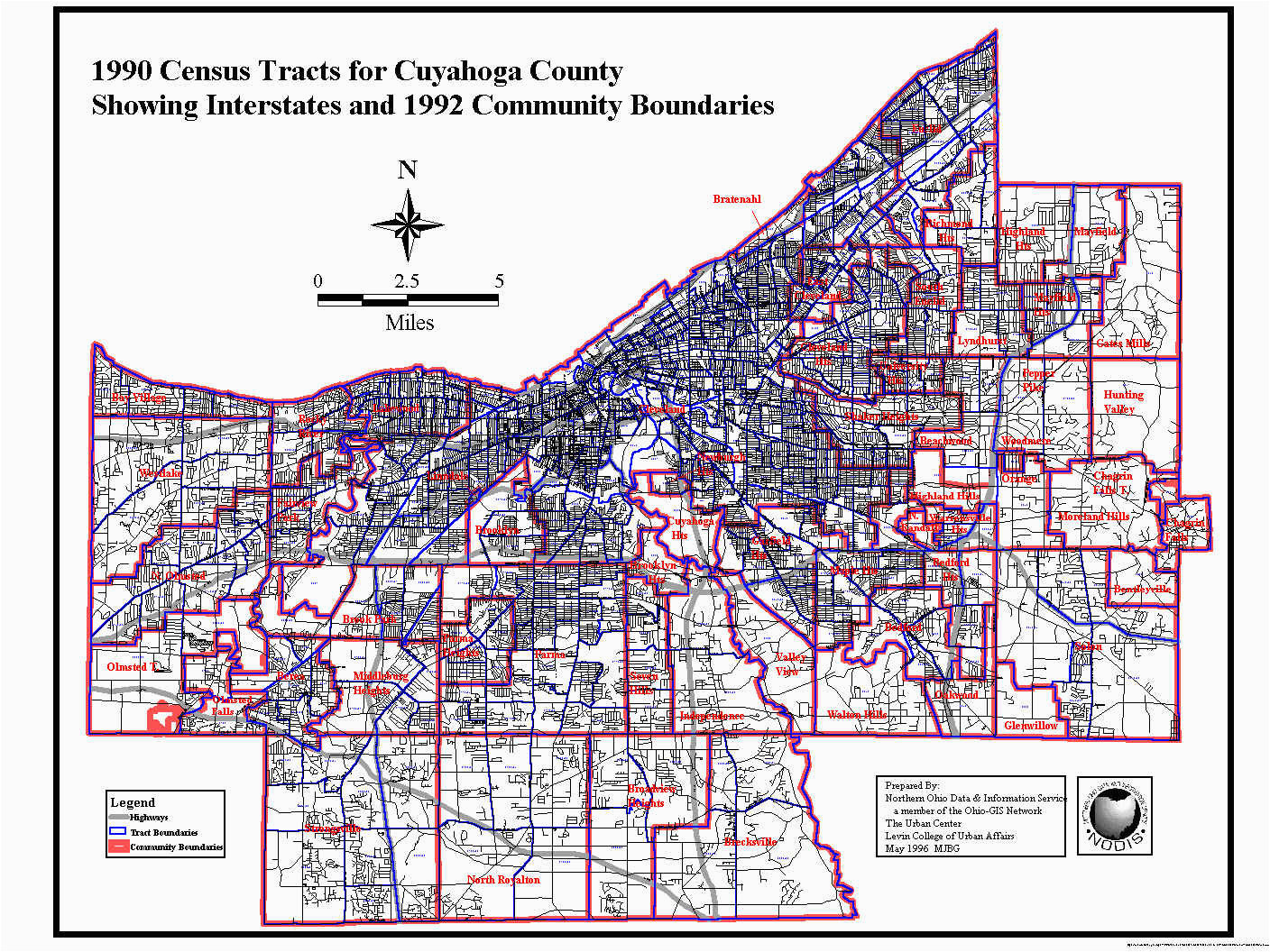 cuyahoga county map room lovely cleveland ohio oh profile population