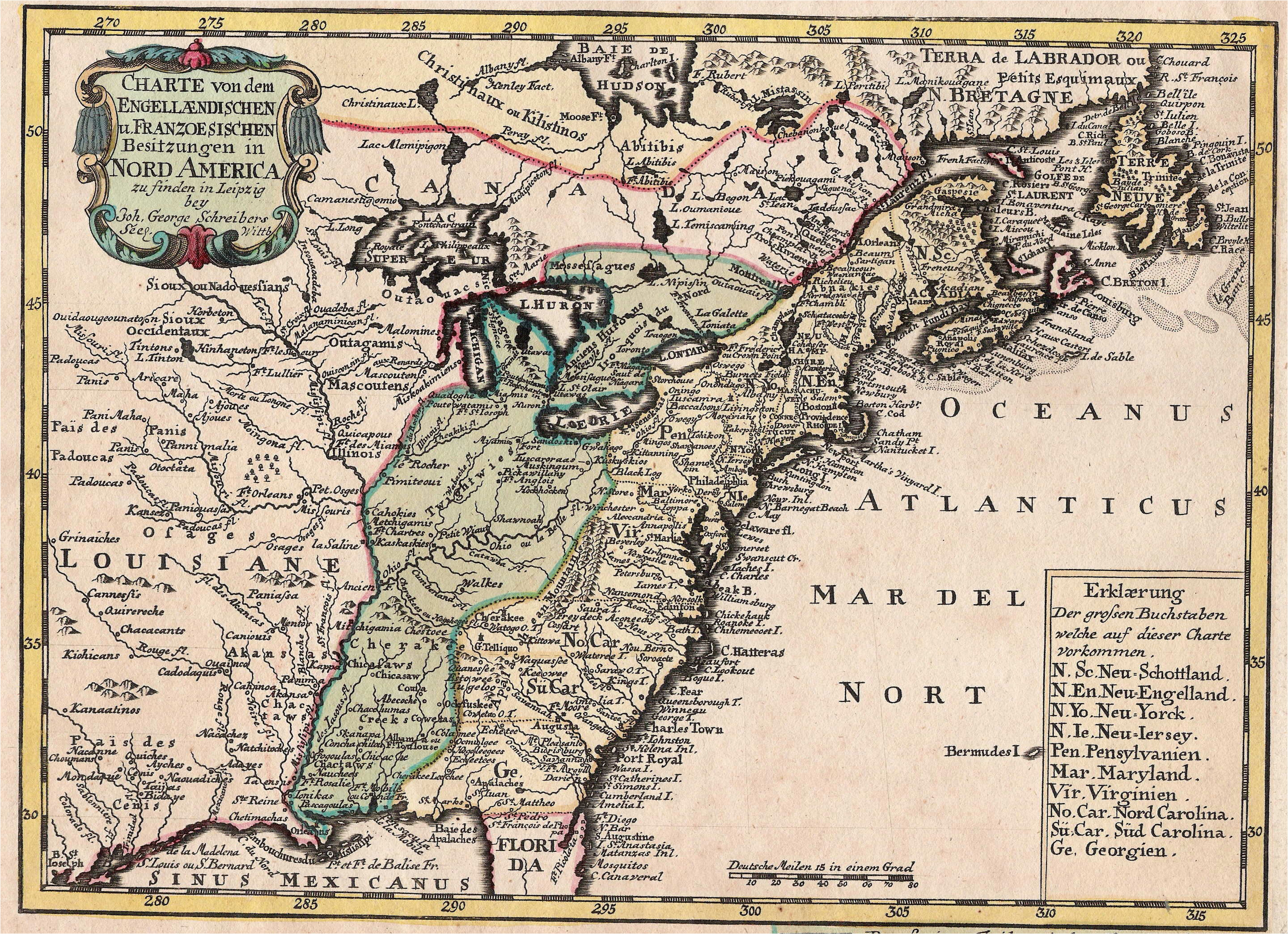 1740 s pennsylvania maps