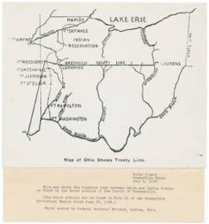 map of ohio and the n w territory northwest territory pinterest