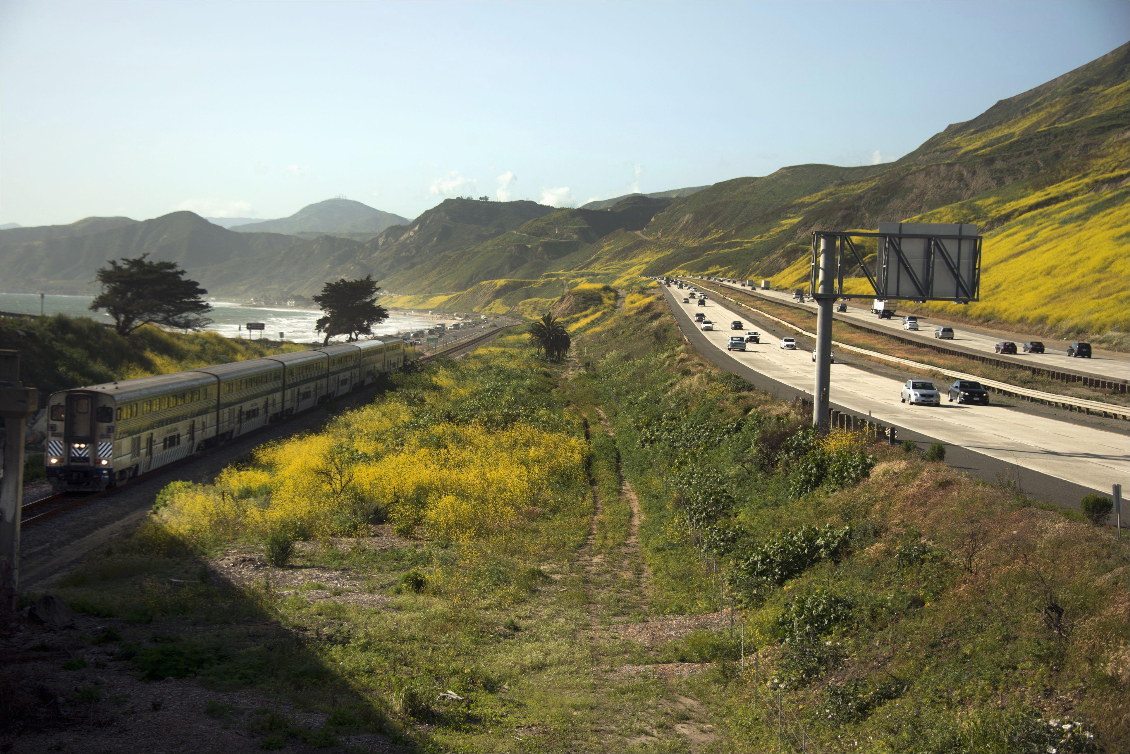 highway 1 california road trip map valid california highway 101 la