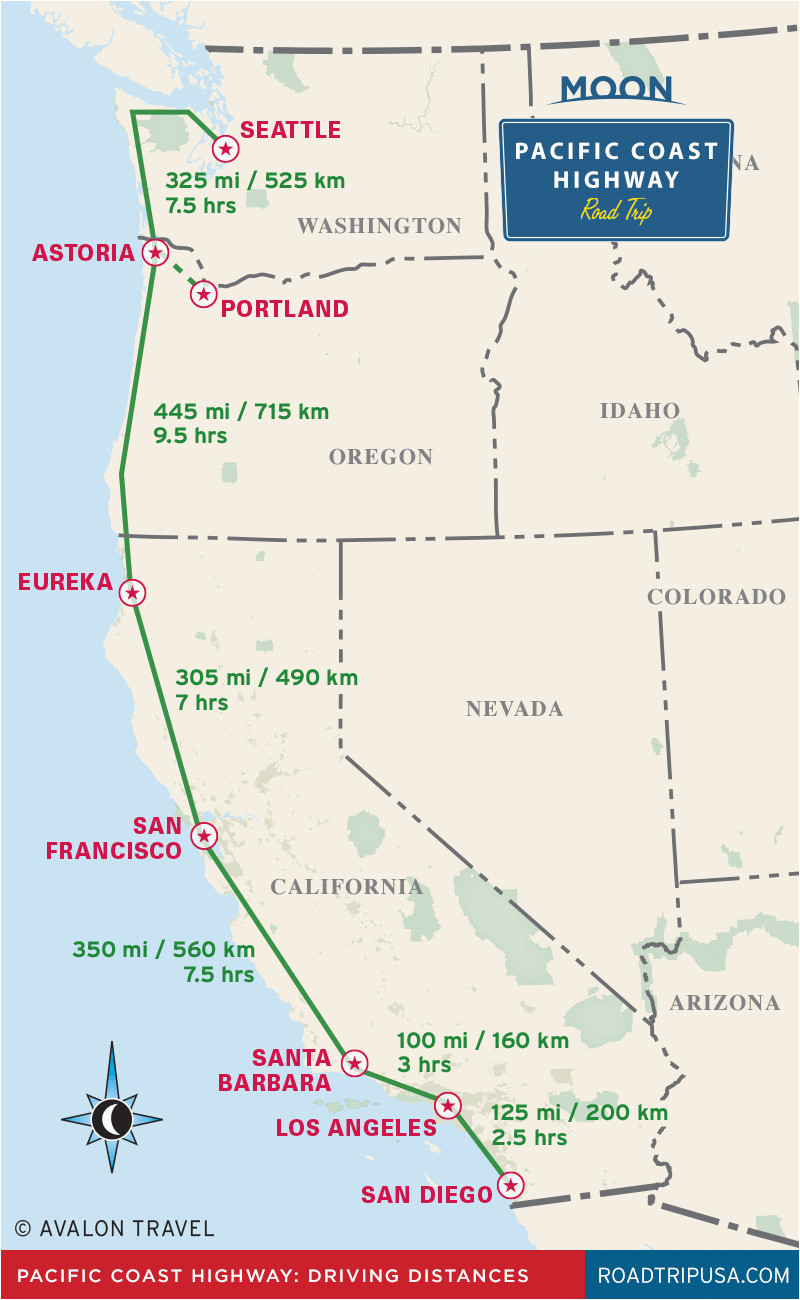 the classic pacific coast highway road trip road trip usa