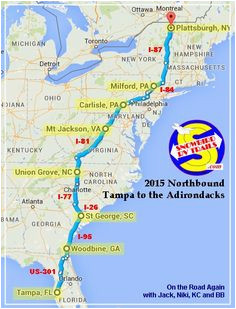 28 best these are rv route maps images us travel blue prints cards