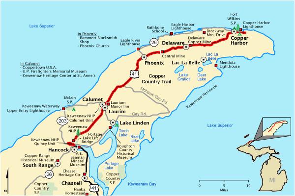 michigan trail maps