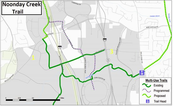Map Of Georgia Kennesaw.Map Of Kennesaw Georgia Trail Map For Noonday Creek Multi Use Trail