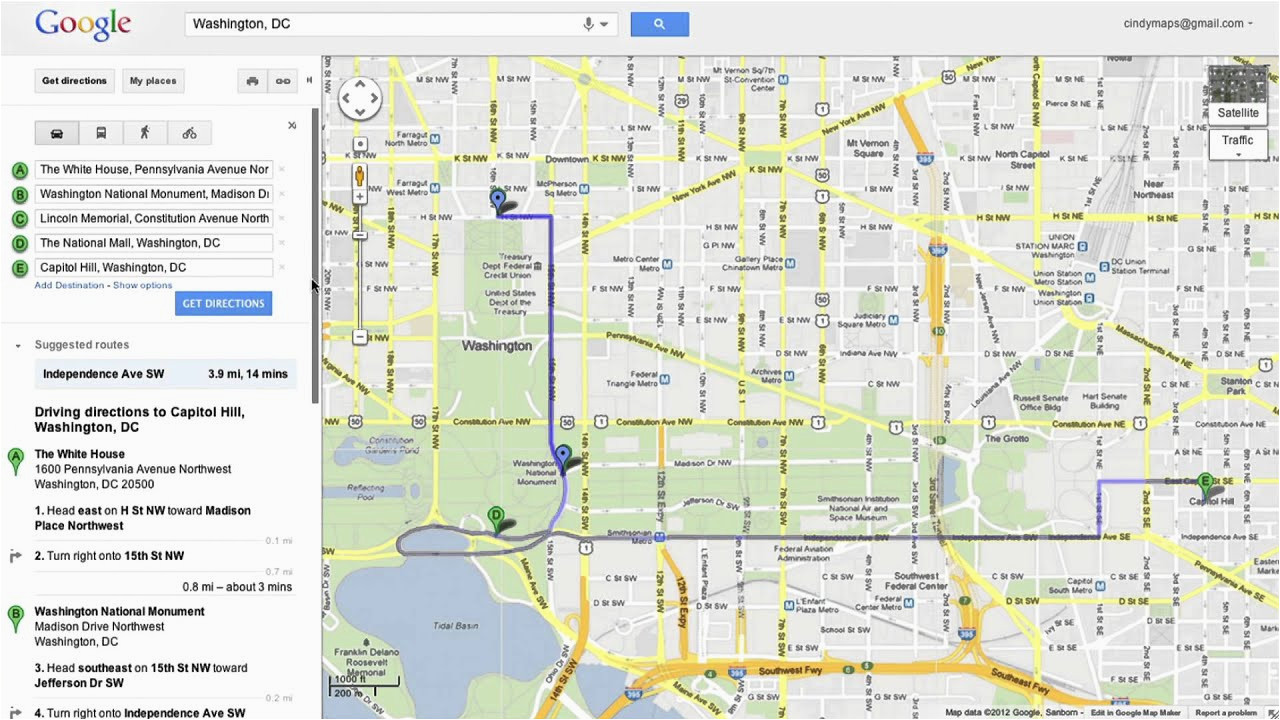 saving directions in google maps youtube