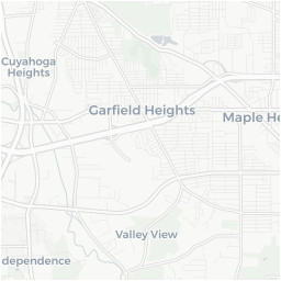 warrensville heights ohio oh 44128 profile population maps