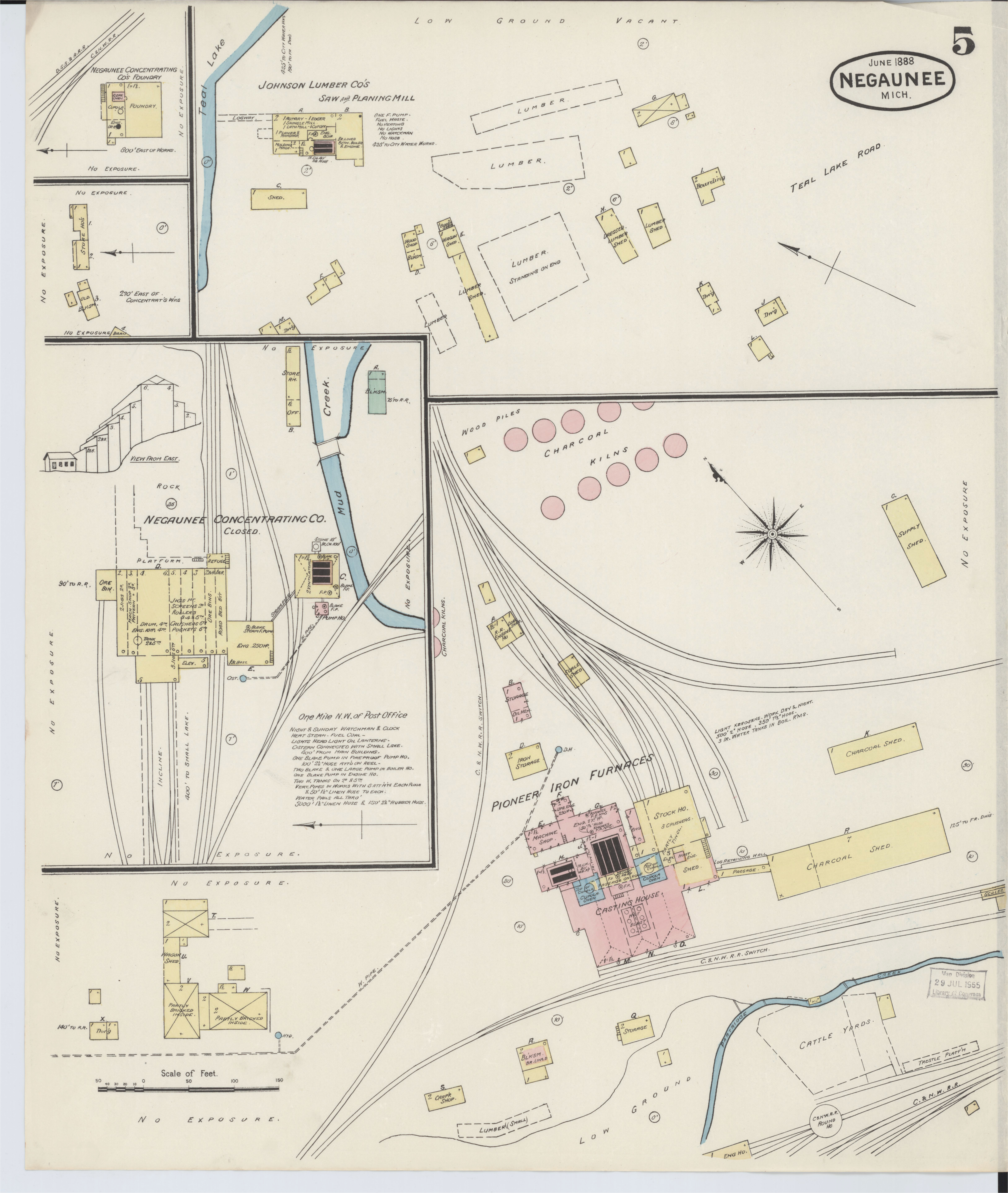 file sanborn fire insurance map from negaunee marquette county