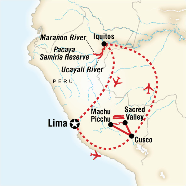 amazon riverboat machu picchu adventure in peru south america g