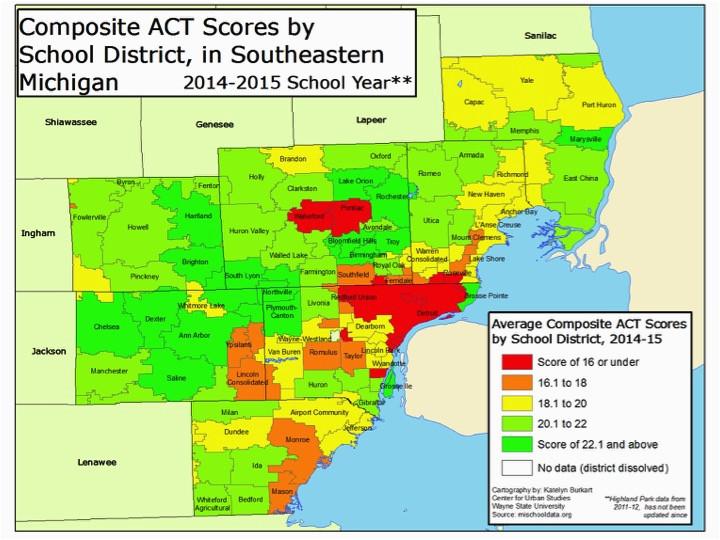 michigan school district map fresh education ny county map