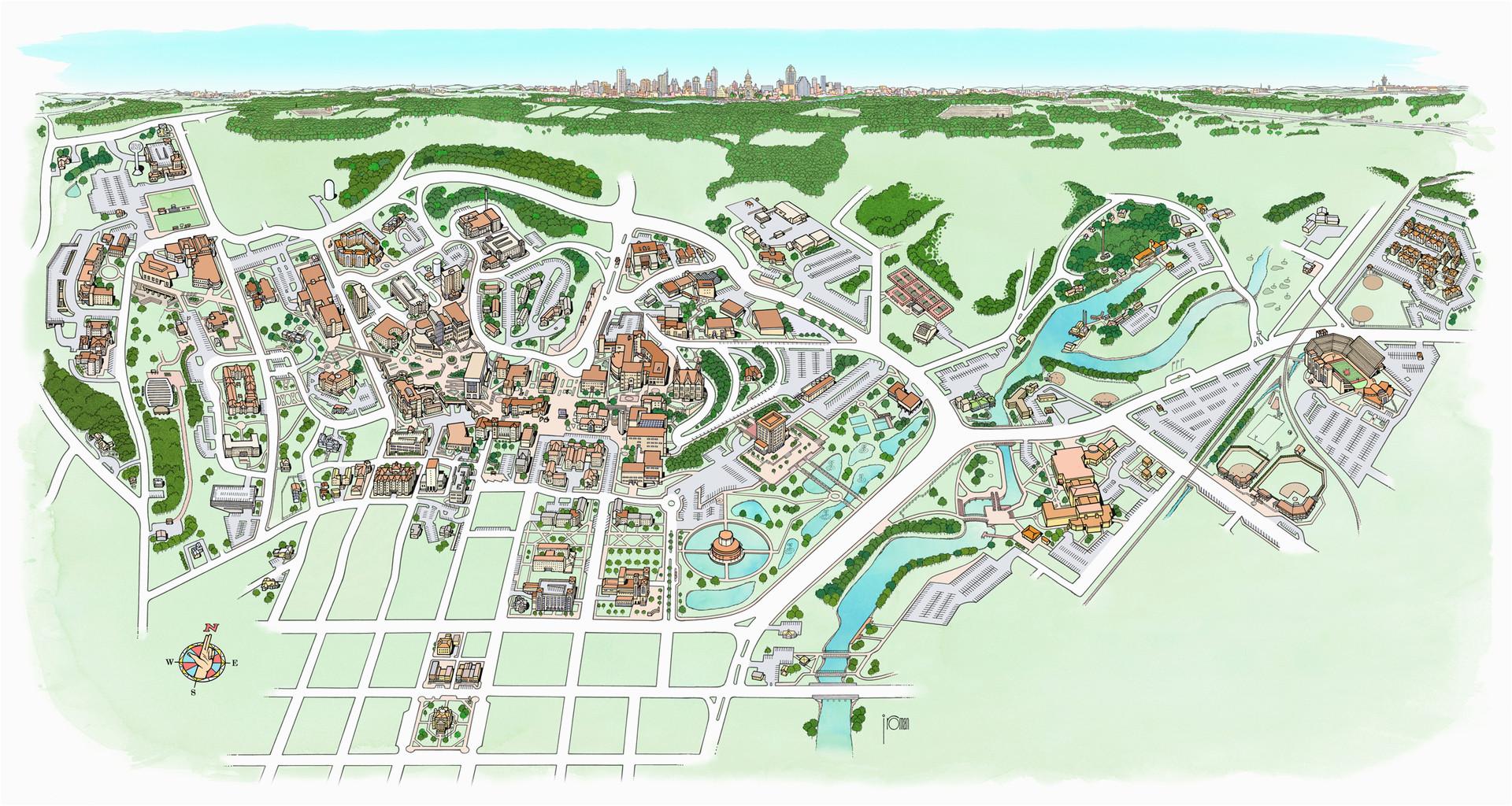 Map Of Michigan State Campus | secretmuseum